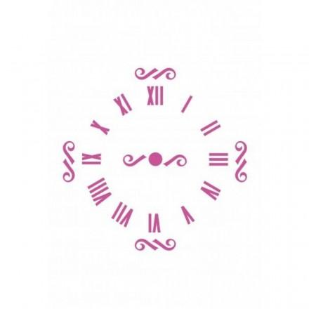 Στένσιλ (Stencil) Craftistico 20x30cm, Ρολόι Λατινικοί Αριθμοί / CRSA4047