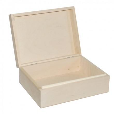 Κουτί ξύλινο, 18,5*12*7cm
