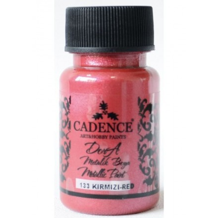Dora metallic Cadence 50 ml, Red / DM133