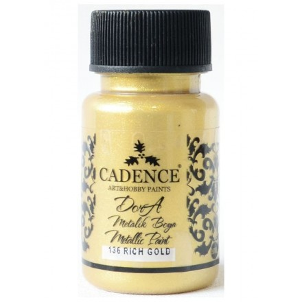 Dora metallic Cadence 50 ml, Rich Gold / DM136