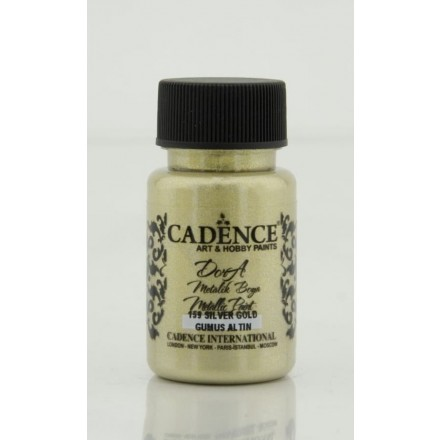 Dora metallic Cadence 50 ml, Silver Gold / DM159