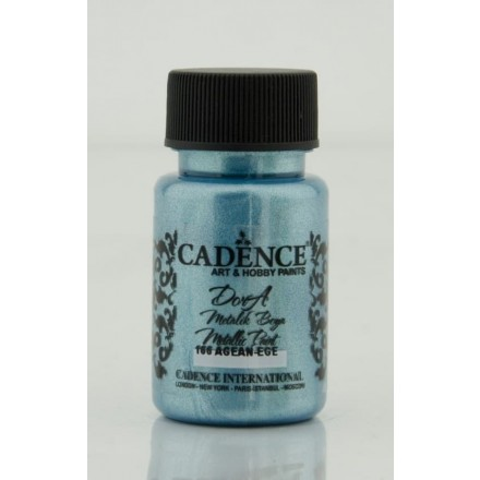 Dora metallic Cadence 50 ml, Aegean / DM166