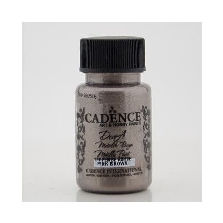 Dora metallic Cadence 50 ml, Pink Brown / DM170