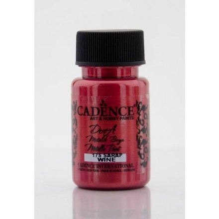 Dora metallic Cadence 50 ml, Wine / DM175