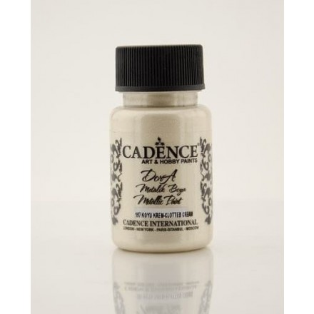 Dora metallic Cadence 50 ml, Clotted Cream / DM197