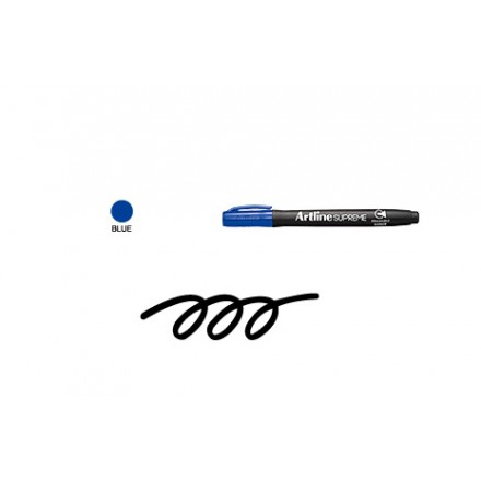 Ανεξίτηλοι Μαρκαδόροι Artline Supreme EPF-700 (1.0mm, Blue)