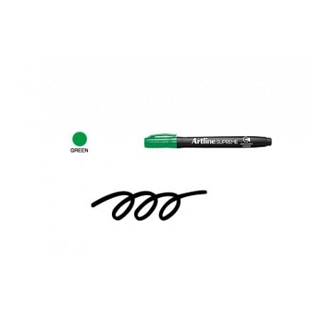 Ανεξίτηλοι Μαρκαδόροι Artline Supreme EPF-700 (1.0mm, Green)