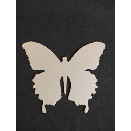 Διακοσμητικό Chipboard 10.5x12cm, Πεταλούδα