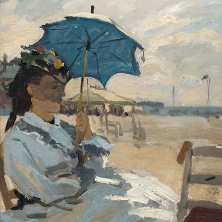Χαρτοπετσέτα για Decoupage, Beach at Trouville / 13309600