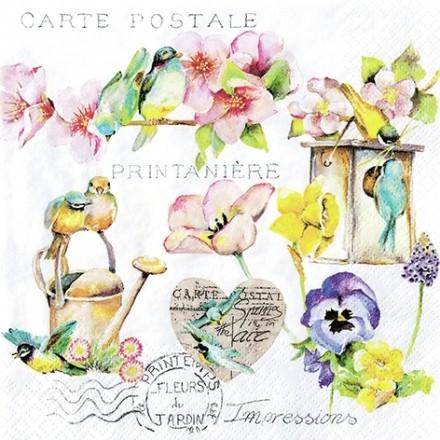 Χαρτοπετσέτα για Decoupage, Garden Flair / 211720