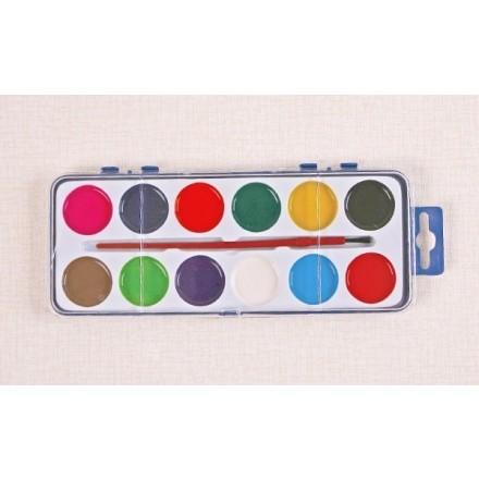 Σετ Water Color Foska 12 χρωμάτων
