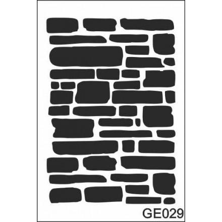 Στένσιλ (Stencil) 21x30cm / GE029