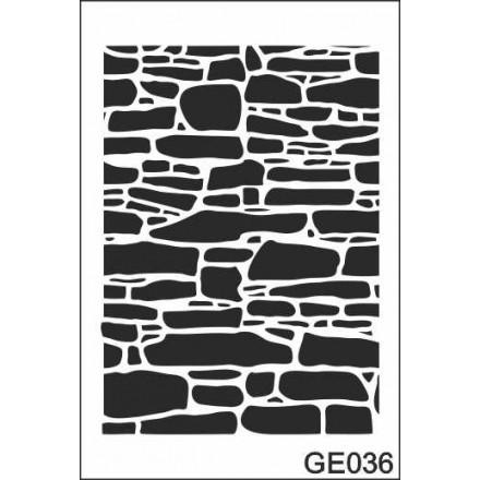 Στένσιλ (Stencil) 21x30cm / GE036
