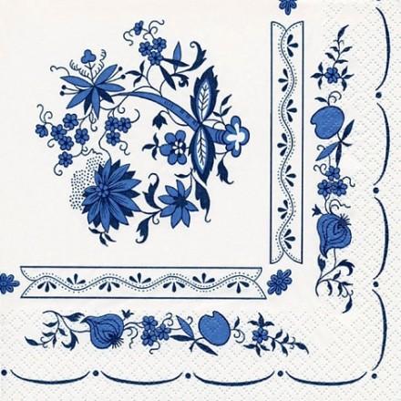 Χαρτοπετσέτα για Decoupage, Zwiebelmuster Blume / 211387
