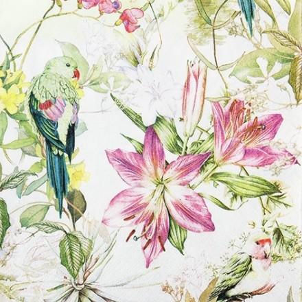 Χαρτοπετσέτα για Decoupage, Flora and Fauna / 211803