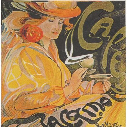 Χαρτοπετσέτα για Decoupage, Grand Cafe 25x25cm / C514100