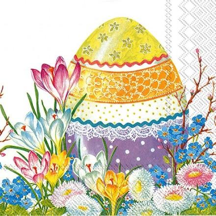 Πασχαλινή Χαρτοπετσέτα για Decoupage, Decorative Easter Egg / IHR-L-599000