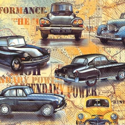 Χαρτοπετσέτα για Decoupage, Cars / L-773200