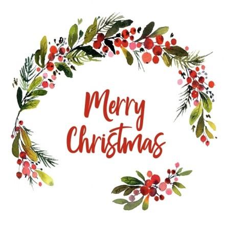 Χριστουγιεννιάτικη Χαρτοπετσέτα για Decoupage, HANNAH MERRY CHRISTMAS / L-904000