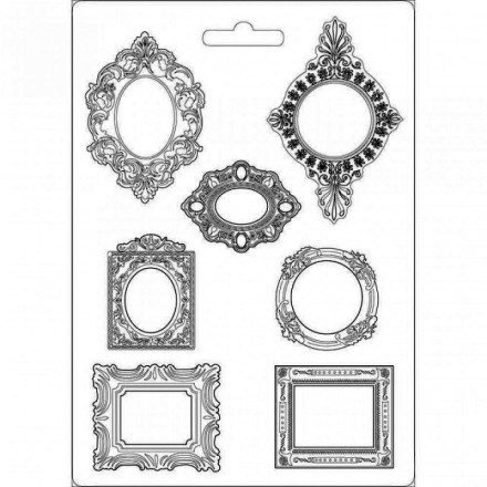 Καλούπι Soft Maxi Mould A4 Stamperia, Frames / K3PTA470