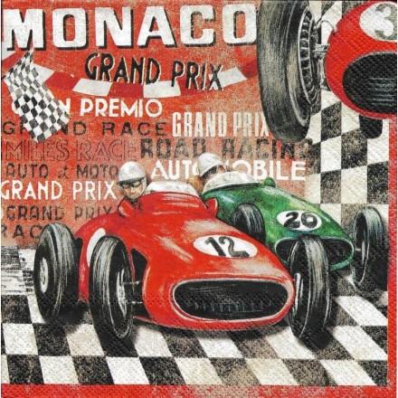 Χαρτοπετσέτα για Decoupage, Grand Prix / LU211410