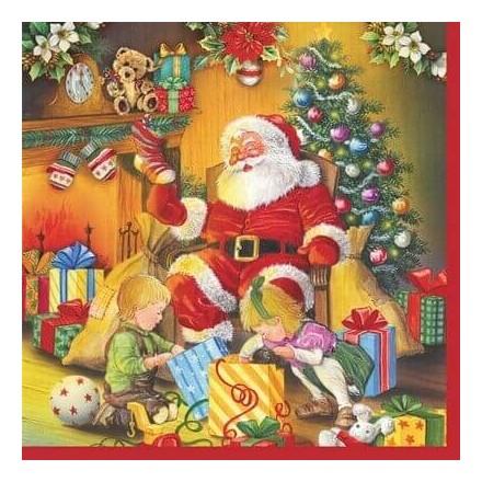 Χριστουγιεννιάτικη Χαρτοπετσέτα για Decoupage / W-006201