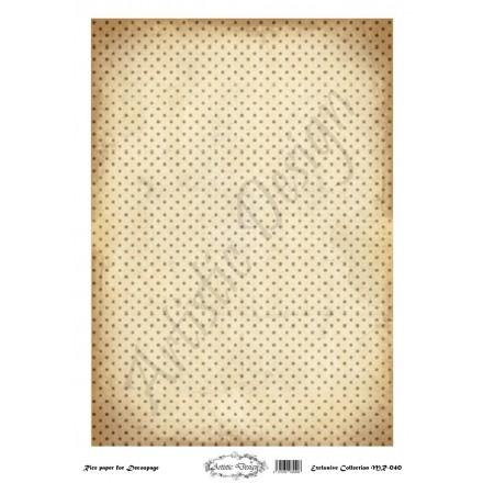 Ριζόχαρτο Artistic Design για Decoupage 30x40cm, Background Dots / MR040