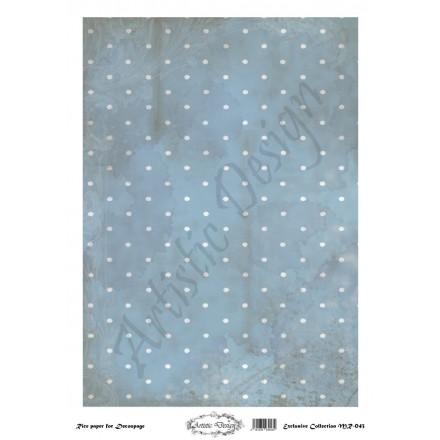 Ριζόχαρτο Artistic Design για Decoupage 30x40cm, Background Dots / MR043