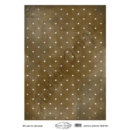 Ριζόχαρτο Artistic Design για Decoupage 30x40cm, Background Dots / MR044