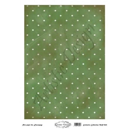 Ριζόχαρτο Artistic Design για Decoupage 30x40cm, Background Dots / MR045