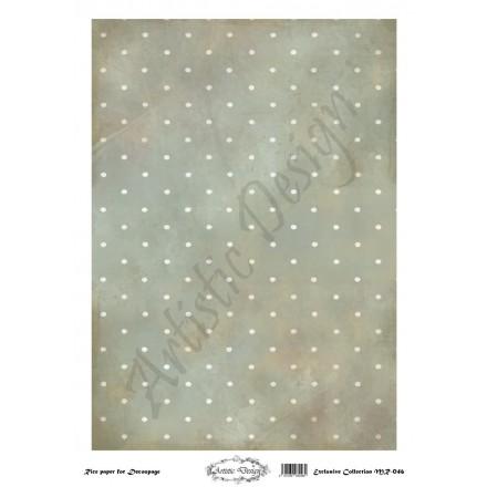 Ριζόχαρτο Artistic Design για Decoupage 30x40cm, Background Dots / MR046