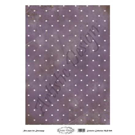 Ριζόχαρτο Artistic Design για Decoupage 30x40cm, Background Dots / MR049