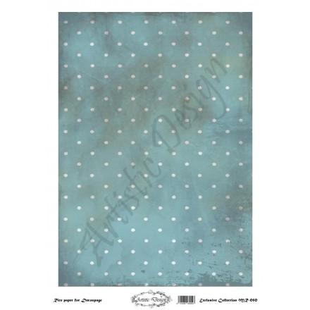 Ριζόχαρτο Artistic Design για Decoupage 30x40cm, Background Dots / MR050