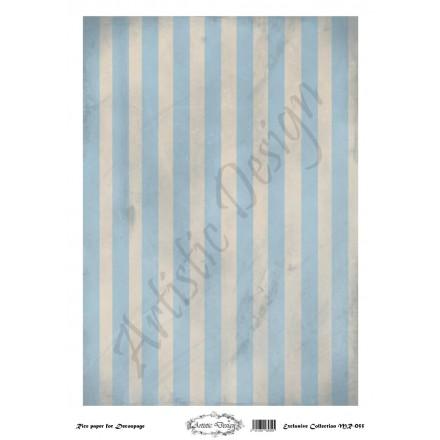 Ριζόχαρτο Artistic Design για Decoupage 30x40cm, Background Stripes / MR055