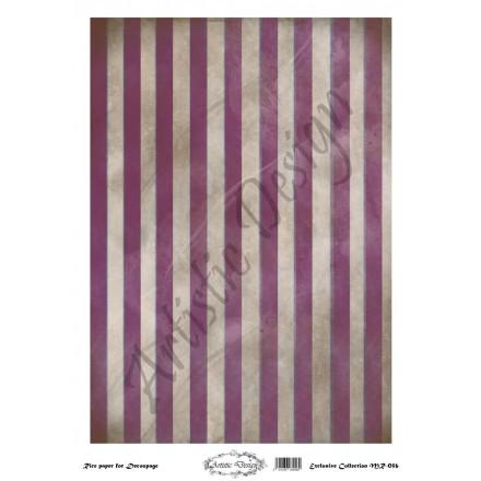 Ριζόχαρτο Artistic Design για Decoupage 30x40cm, Background Stripes / MR056
