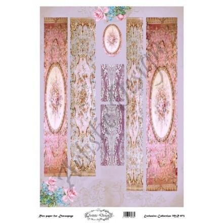 Ριζόχαρτο Artistic Design για Decoupage 30x40cm, Λαμπάδα persian / MR973