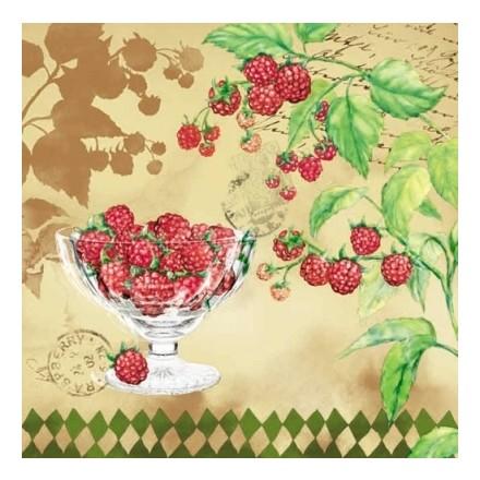 Χαρτοπετσέτα για Decoupage, Raspberry / NV-74453