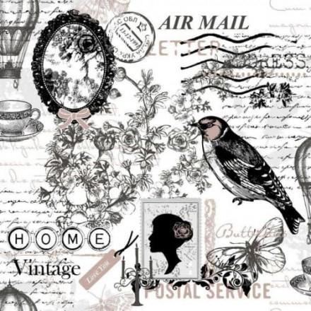 Χαρτοπετσέτα για Decoupage, Poetie / NV-74483