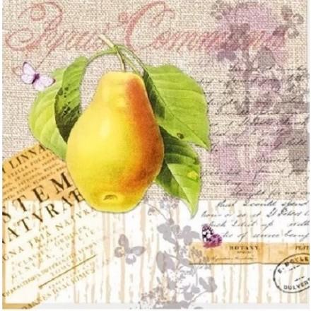 Χαρτοπετσέτα για Decoupage, Botany Pear / NV-74521
