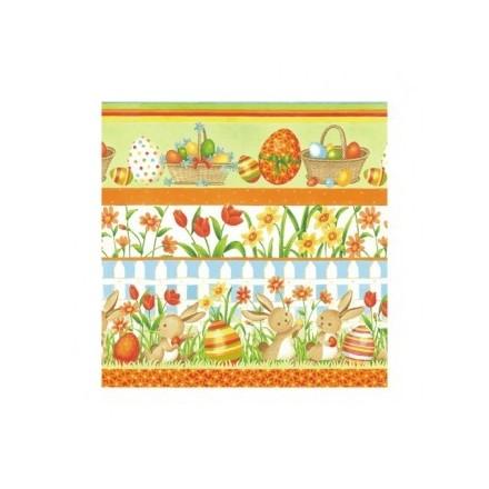 Χαρτοπετσέτα για Decoupage, Funny Easter / SDL003900