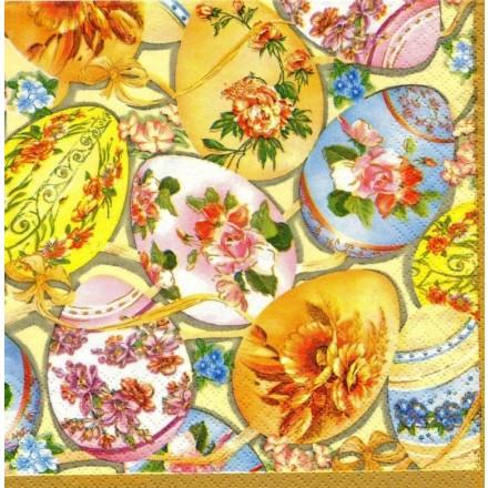 Χαρτοπετσέτα για Decoupage, Easter Eggs / SDL331501
