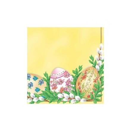 Χαρτοπετσέτα για Decoupage, Easter Decoration (yellow) / SDL331701