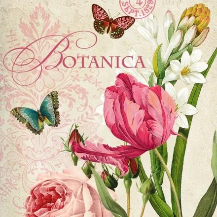 Χαρτοπετσέτα για Decoupage, Botanica / 133-1184