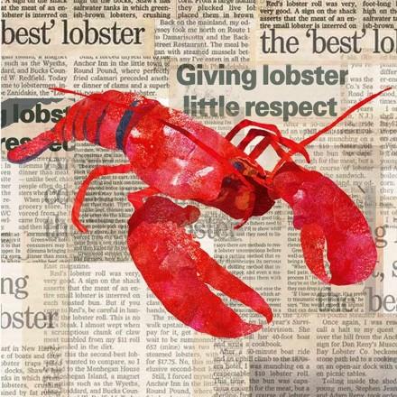Χαρτοπετσέτα για Decoupage, Lobster Shack / 133-1257