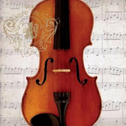 Χαρτοπετσέτα για Decoupage, Concerto Violino / 133-1712