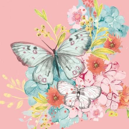 Χαρτοπετσέτα για Decoupage, Louise Butterfly / 133-1915