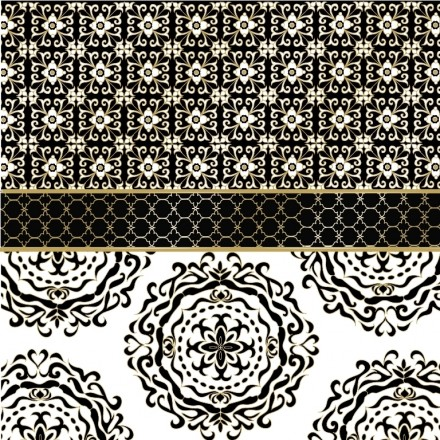 Χαρτοπετσέτα για Decoupage, Madaket black gold / 133-3121