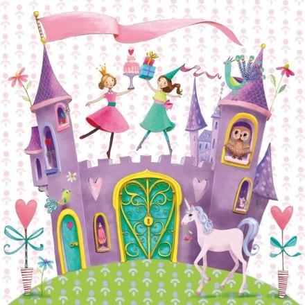 Χαρτοπετσέτα για Decoupage, Princess Castle / 1331520