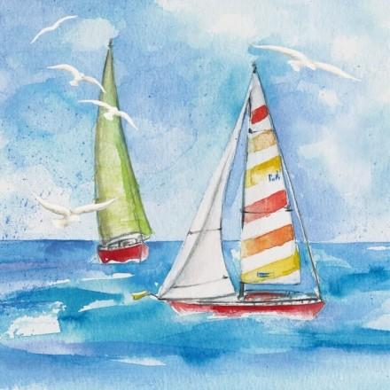Χαρτοπετσέτα για Decoupage, Sailing / 133236
