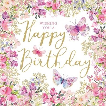 Χαρτοπετσέτα για Decoupage, Happy Birthday Wishes / 1333154